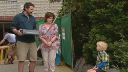 Jim Dolan, Lyn Scully, Charlie Hoyland in Neighbours Episode 6102