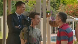 Mark Brennan, Lucas Fitzgerald, Karl Kennedy in Neighbours Episode 6103