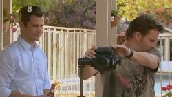Mark Brennan, Lucas Fitzgerald in Neighbours Episode 6103