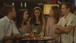 Mark Brennan, Kate Ramsay, Jade Mitchell, Sonya Mitchell, Toadie Rebecchi in Neighbours Episode 6103