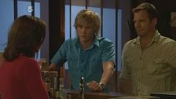 Rebecca Napier, Andrew Robinson, Michael Williams in Neighbours Episode 6104