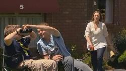 Callum Jones, Toadie Rebecchi, Sonya Mitchell in Neighbours Episode 6104
