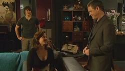 Declan Napier, Rebecca Napier, Paul Robinson in Neighbours Episode 6106