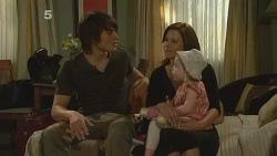 Declan Napier, Rebecca Napier, India Napier in Neighbours Episode 6106
