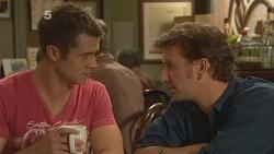 Mark Brennan, Lucas Fitzgerald in Neighbours Episode 6108