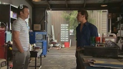 Michael Williams, Lucas Fitzgerald in Neighbours Episode 6108