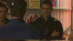 Garland Cole, Lucas Fitzgerald, Mark Brennan in Neighbours Episode 6108