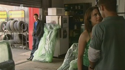 Garland Cole, Kate Ramsay, Mark Brennan in Neighbours Episode 6109