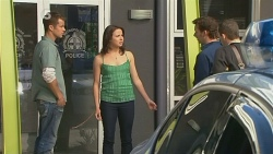 Mark Brennan, Kate Ramsay, Lucas Fitzgerald, Toadie Rebecchi in Neighbours Episode 6109