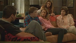 Toadie Rebecchi, Callum Jones, Sonya Mitchell, Jade Mitchell, Lyn Scully in Neighbours Episode 6109