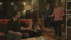 Toadie Rebecchi, Jade Mitchell, Callum Jones, Sonya Mitchell in Neighbours Episode 6110