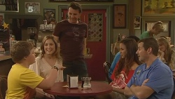 Callum Jones, Sonya Mitchell, Lucas Fitzgerald, Jade Mitchell, Toadie Rebecchi in Neighbours Episode 6110