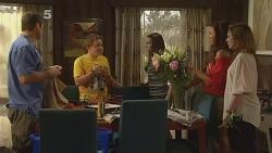 Toadie Rebecchi, Callum Jones, Sophie Ramsay, Jade Mitchell, Sonya Mitchell in Neighbours Episode 6110