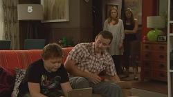Callum Jones, Toadie Rebecchi, Sonya Mitchell, Jade Mitchell in Neighbours Episode 6112