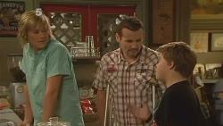 Andrew Robinson, Toadie Rebecchi, Callum Jones in Neighbours Episode 6112