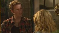 Eddie Coogan, Natasha Williams in Neighbours Episode 6112
