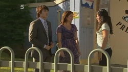 Declan Napier, Rebecca Napier, Karen Walker in Neighbours Episode 6113