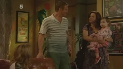 Natasha Williams, Michael Williams, Rebecca Napier, India Napier in Neighbours Episode 6114