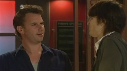 Lucas Fitzgerald, Declan Napier in Neighbours Episode 6114