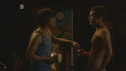 Declan Napier, Mark Brennan in Neighbours Episode 6114