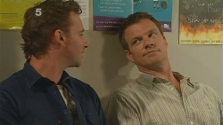 Lucas Fitzgerald, Michael Williams in Neighbours Episode 6114