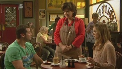 Toadie Rebecchi, Lyn Scully, Sonya Mitchell in Neighbours Episode 6115