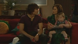 Declan Napier, Rebecca Napier, India Napier in Neighbours Episode 6115