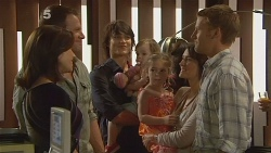 Rebecca Napier, Michael Williams, Declan Napier, India Napier, Chloe Cammeniti, Carmella Cammeniti, Oliver Barnes in Neighbours Episode 6116