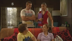 Toadie Rebecchi, Jade Mitchell, Callum Jones, Sonya Mitchell in Neighbours Episode 6116