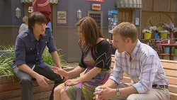 Declan Napier, Rebecca Napier, Oliver Barnes in Neighbours Episode 6116