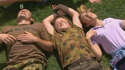 Toadie Rebecchi, Callum Jones, Sonya Mitchell in Neighbours Episode 6116