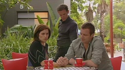 Rebecca Napier, Paul Robinson, Michael Williams in Neighbours Episode 6116