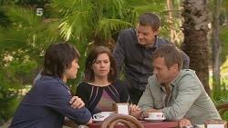 Declan Napier, Rebecca Napier, Paul Robinson, Michael Williams in Neighbours Episode 6117