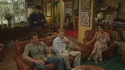 Declan Napier, Michael Williams, Oliver Barnes, Carmella Cammeniti in Neighbours Episode 6117