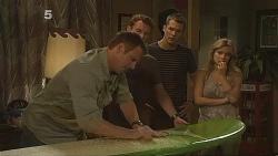 Michael Williams, Lucas Fitzgerald, Mark Brennan, Natasha Williams in Neighbours Episode 6118