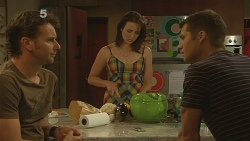 Lucas Fitzgerald, Kate Ramsay, Mark Brennan in Neighbours Episode 6118
