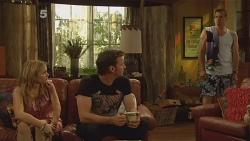 Natasha Williams, Lucas Fitzgerald, Michael Williams in Neighbours Episode 6118