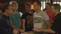 Paul Robinson, Andrew Robinson, Lucas Fitzgerald, Michael Williams, Mark Brennan, Toadie Rebecchi in Neighbours Episode 6118