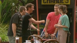 Toadie Rebecchi, Lucas Fitzgerald, Mark Brennan, Kate Ramsay in Neighbours Episode 6118