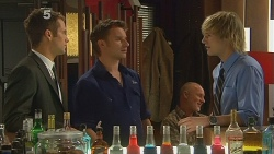 Mark Brennan, Lucas Fitzgerald, Andrew Robinson in Neighbours Episode 6119