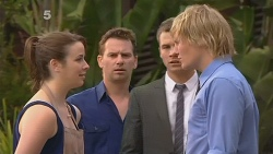 Kate Ramsay, Lucas Fitzgerald, Mark Brennan, Andrew Robinson in Neighbours Episode 6119