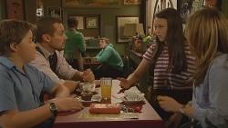 Callum Jones, Toadie Rebecchi, Sophie Ramsay, Sonya Mitchell in Neighbours Episode 6120
