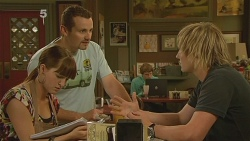 Summer Hoyland, Toadie Rebecchi, Andrew Robinson in Neighbours Episode 6120