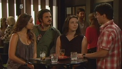 Jade Mitchell, Brad Bain, Kate Ramsay, Tom Randall in Neighbours Episode 6121