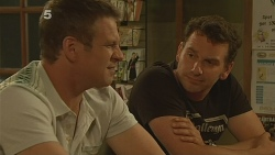 Michael Williams, Lucas Fitzgerald in Neighbours Episode 6122