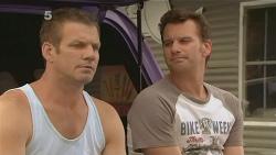 Michael Williams, Lucas Fitzgerald in Neighbours Episode 6123