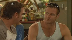 Lucas Fitzgerald, Michael Williams in Neighbours Episode 6123