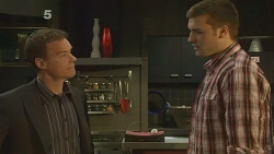Paul Robinson, Tomas Bersky in Neighbours Episode 6127