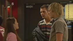 Sophie Ramsay, Mark Brennan, Andrew Robinson in Neighbours Episode 6127