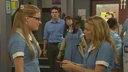 Lisa Devine, Chris Pappas, Summer Hoyland, Natasha Williams in Neighbours Episode 6129